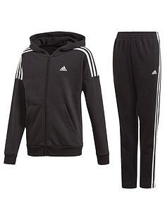 adidas-childrens-jb-cotton-tracksuit-black