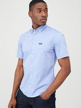 Boss Boss Biadia-R Short Sleeved Shirt - Blue Picture