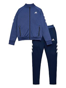 Adidas   Childrens Xfg Tracksuit - Indigo