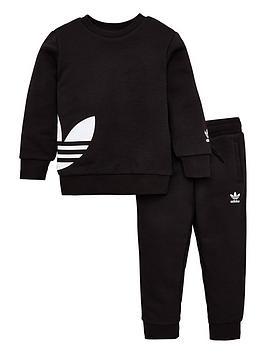 adidas Originals Adidas Originals Childrens Big Trefoil Crew Tracksuit  -  ... Picture