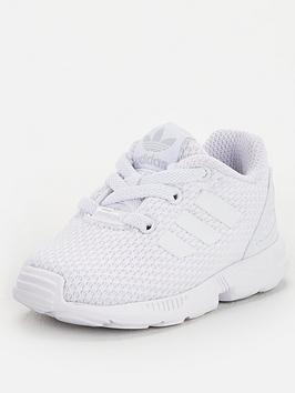 adidas Originals Adidas Originals Zx Flux El Infant Trainers - White Picture