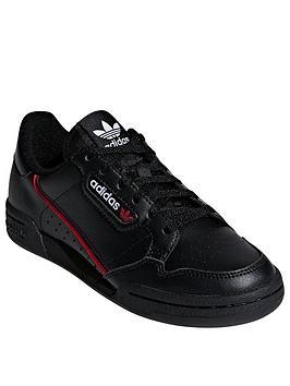 adidas Originals Adidas Originals Continental 80 Junior Trainers - Black Picture