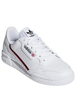 adidas Originals Adidas Originals Continental 80 Junior Trainers - White Picture
