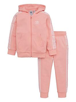 adidas Originals Adidas Originals Lock Up Hoodie Tracksuit - Pink Picture