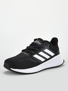Adidas Adidas Runfalcon Junior Trainers - Core Black Picture