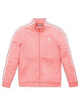 adidas Originals Adidas Originals Childrens Lock Up Zip Front Top - Pink Picture