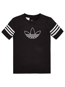 adidas-originals-childrens-outline-short-sleeve-t-shirt-black