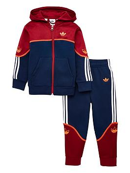 adidas Originals Adidas Originals Childrens Outline Full Zip Hoodie  ... Picture