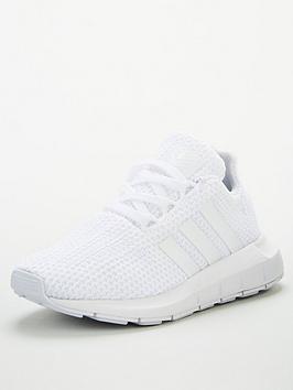 adidas Originals Adidas Originals Swift Run Childrens Trainer - Cloud White Picture
