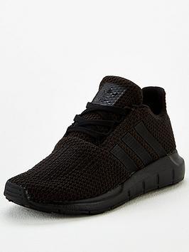 adidas Originals Adidas Originals Swift Run Childrens Trainer - Core Black Picture