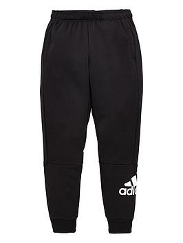 Adidas   Boys Badge Of Sport Pants - Black