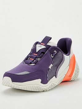 Adidas   4Uture Rnr Junior Trainer - Purple