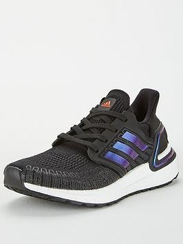 Adidas Adidas Ultraboost 20 Junior Trainers - Black Picture