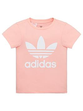 adidas Originals Adidas Originals Childrens Trefoil Short Sleeve T-Shirt -  ... Picture