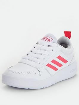 Adidas Adidas Tensaur Childrens Trainers - White/Pink Picture