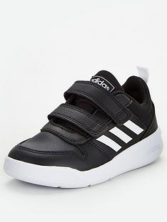 adidas-tensaur-childrens-trainers-black
