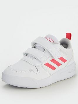 Adidas Tensaurus Childrens Trainers - White/Pink