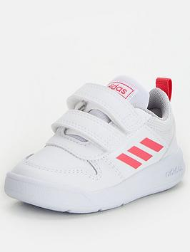 Adidas Adidas Tensaur Infant Trainers - White/Pink Picture