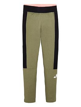 Adidas Adidas Childrens Jg A Tp Tights - Green Picture