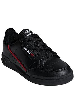 adidas Originals  Adidas Originals Continental 80 Childrens Trainers - Black