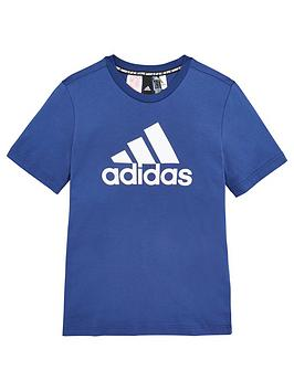 Adidas Adidas Youth Badge Of Sport T-Shirt - Indigo Picture
