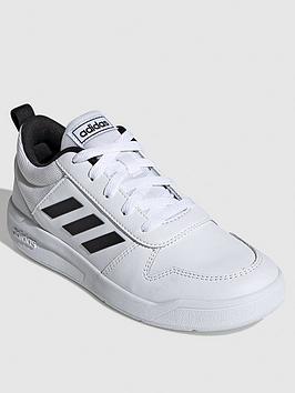 Adidas Adidas Tensaur Junior Trainers - Black/White Picture