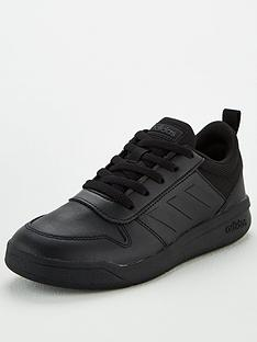 adidas-tensaur-junior-trainers-black