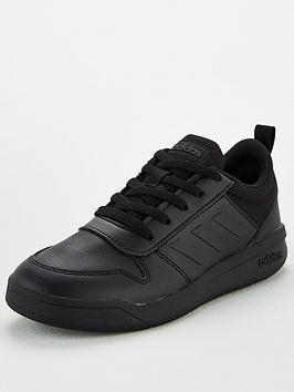 adidas-tensaur-junior-trainers-black