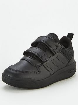 adidas-tensaurus-childrens-trainers-black