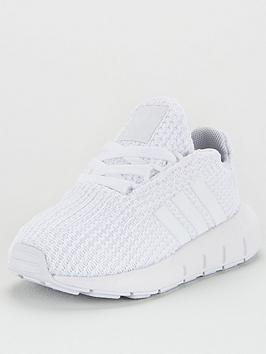 adidas Originals Adidas Originals Swift Run Infant Trainers - White Picture