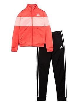 Adidas Adidas Girls Tiberio Tracksuit - Pink Picture