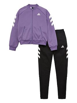 Adidas Adidas Youth Xfg Tracksuit - Purple Picture