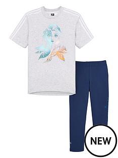 adidas-childrens-lg-disney-frozen-t-shirt-and-leggings-set-light-grey-heather
