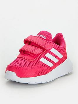 Adidas Adidas Tensaur Run Infant Trainers - Pink/White Picture