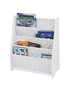lloyd-pascal-hammock-style-bookshelf-with-printed-star-fabric