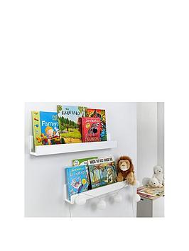 set-of-2-wall-mounted-kids-shelves