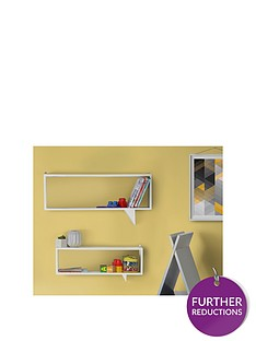 lloyd-pascal-set-of-2-speech-shaped-kids-shelves