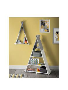 lloyd-pascal-teepee-wall-mounted-single-tier-kids-shelf