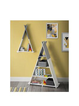 Lloyd Pascal Lloyd Pascal Teepee Wall Mounted Single Tier Kids Shelf Picture