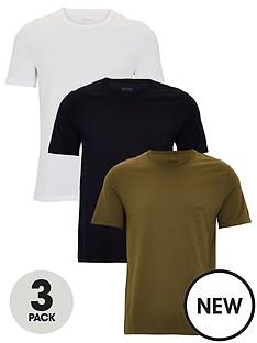 boss-three-pack-t-shirts-whitenavykhaki