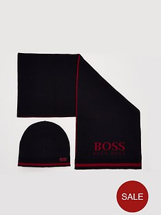 boss-hat-amp-scarf-set-black