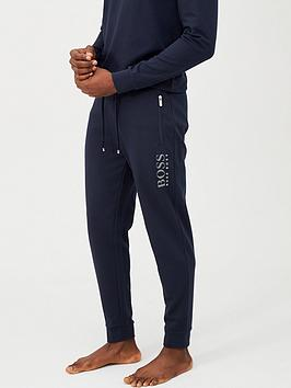 Boss Boss Silver Logo Lounge Pant - Navy Picture