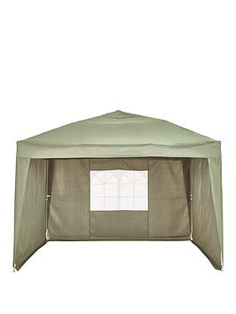 Very 2.5 X 2.5M Pop Up Gazebo With 3 Piece Side Panels Picture