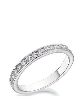 Love DIAMOND Love Diamond 9Ct White Gold 40Pt Diamond Channel Set 2.5Mm  ... Picture