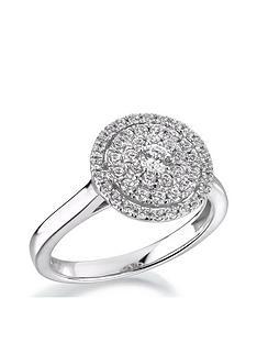 love-diamond-9ct-white-gold-12-carat-diamond-round-cluster-ring