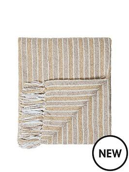 cascade-home-frera-striped-boucle-throw