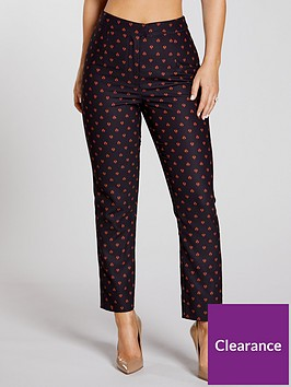 kate-wright-printed-slim-leg-trouser-co-ord-multi