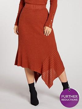 kate-wright-asymmetrical-rib-knitted-skirt-co-ord--tobacco