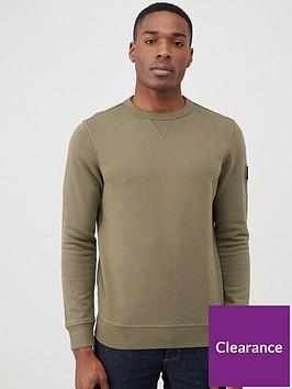 boss-walkup-crew-neck-sweatshirt-khaki