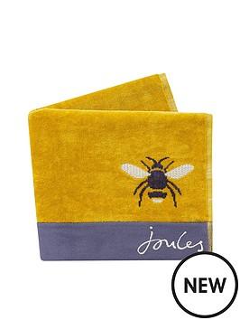 joules-botanical-bee-towels-bath-towel